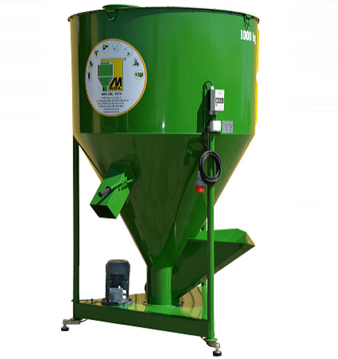 Dry Feed Mixer 3430 l / 2000 kg